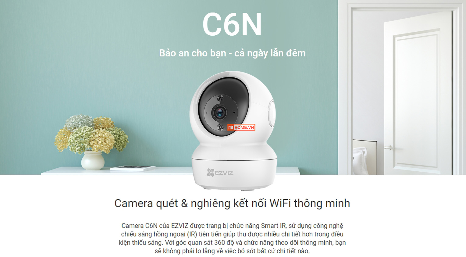 Camera IP Wifi Ezviz C6N 1080pHD 1 1