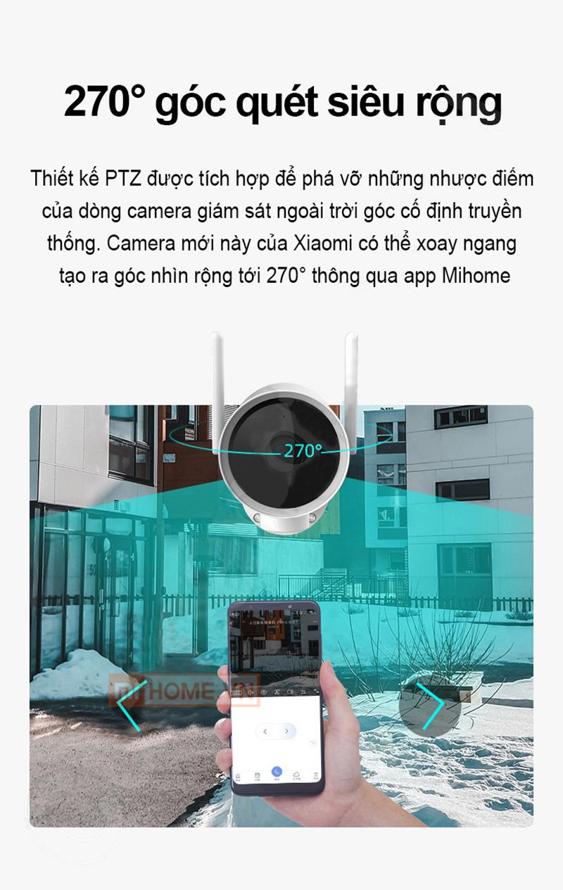 Camera Ngoai Troi Xiaomi Xoay 270 Do 4 1