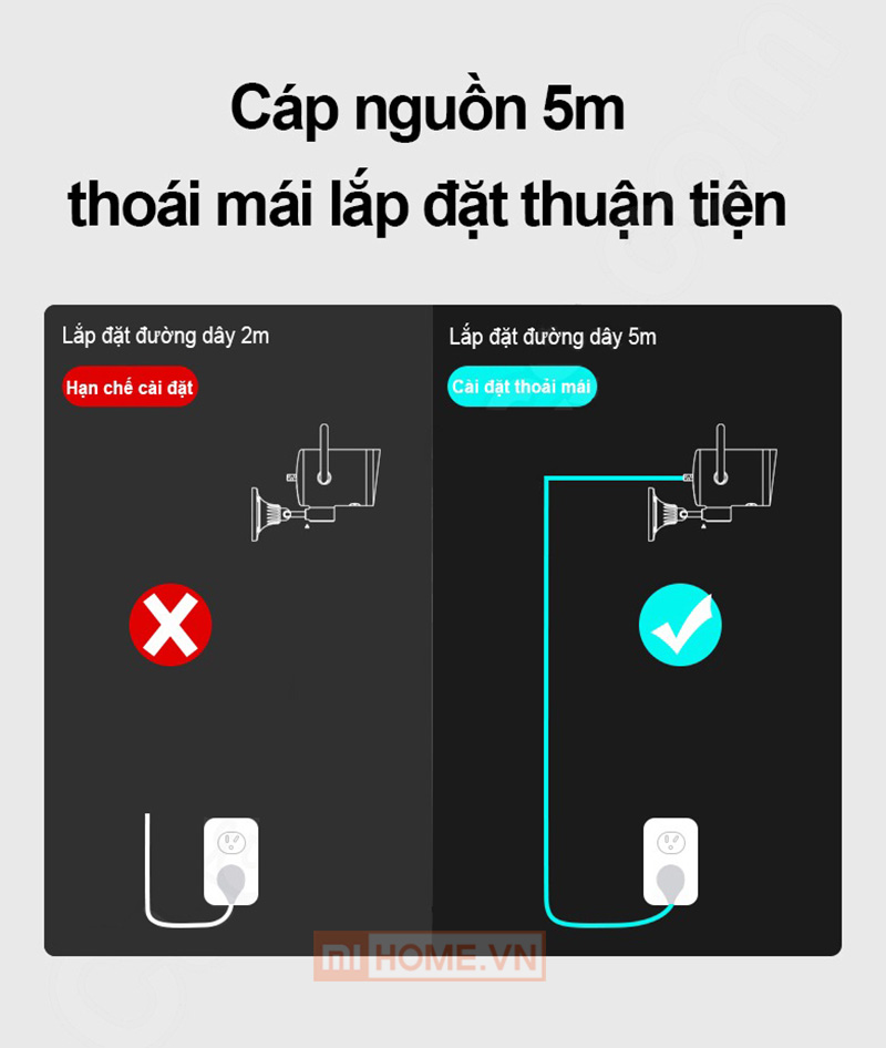Camera Ngoai Troi Xiaomi Xoay 270 Do 5 1