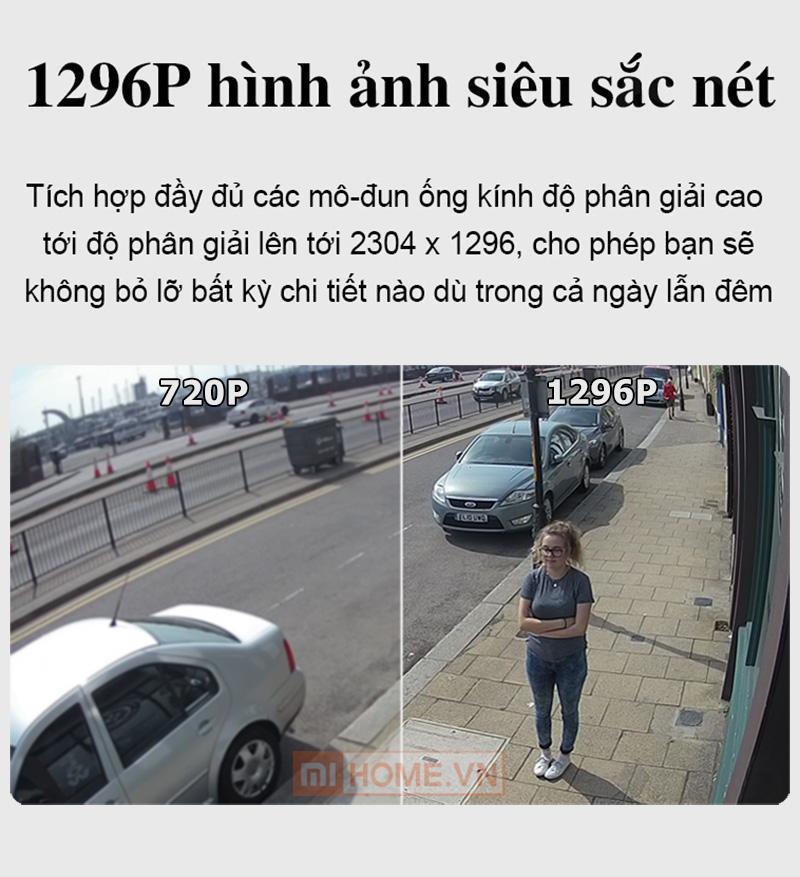 Camera Ngoai Troi Xiaomi Xoay 270 Do 9