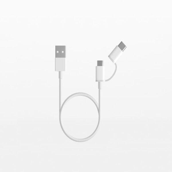 cable 2 cong micro typec xiaomi 1