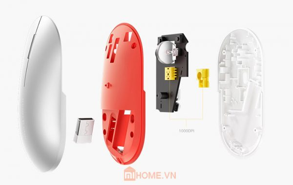 chuot bluetooth 24ghz xiaomi kim loai 2020 6