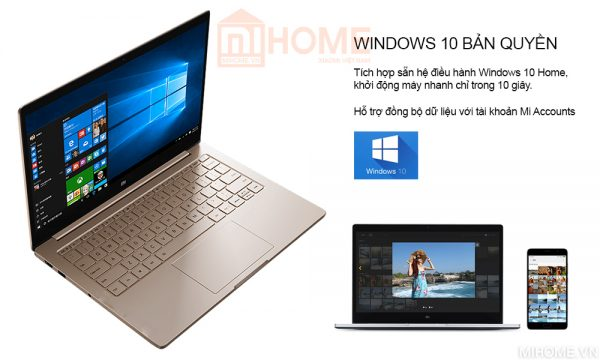 laptop xiaomi mi notebook air 133 2017 van tay 3