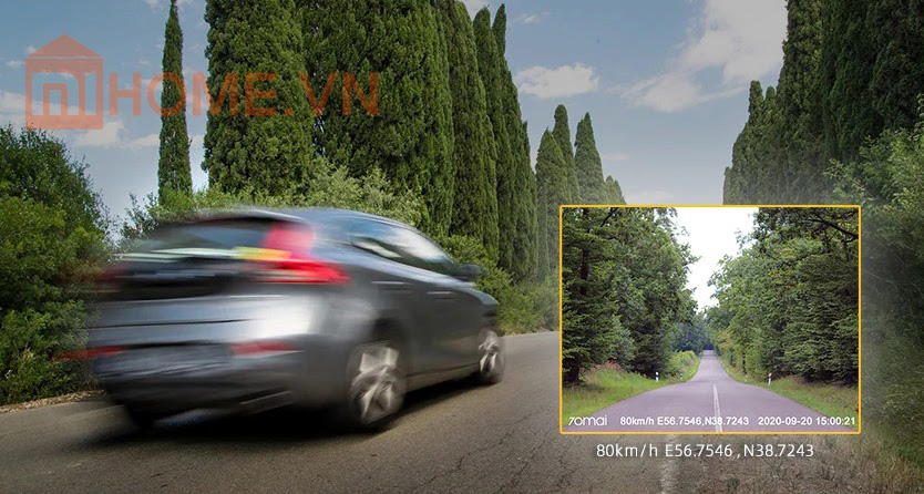 camera hanh trinh oto 70mai pro plus a500 3