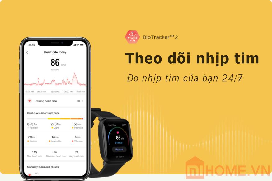 Dong Ho Xiaomi Amazfit Bip U 10