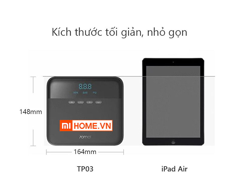 May Bom Lop Xe Oto Xiaomi 70MAI Midrive TP03 10