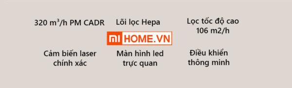 May Loc Khong Khi Xiaomi 3C 3