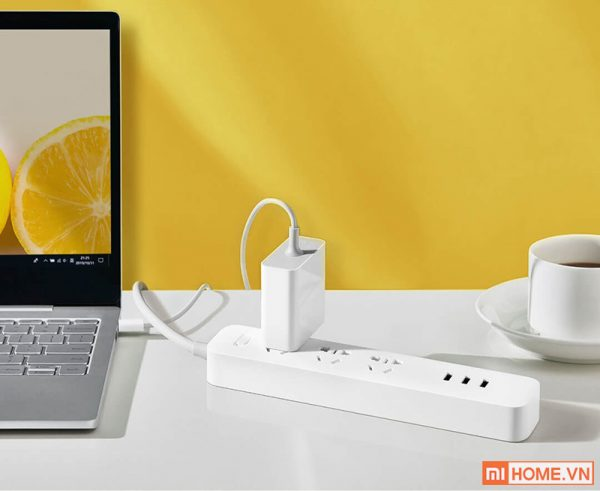 O Cam 3 Cong Sac Nhanh USB 27W Xiaomi Mijia 4