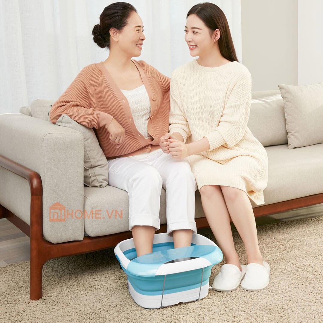 Chau ngam chan massage Xiaomi LF ZP008 4