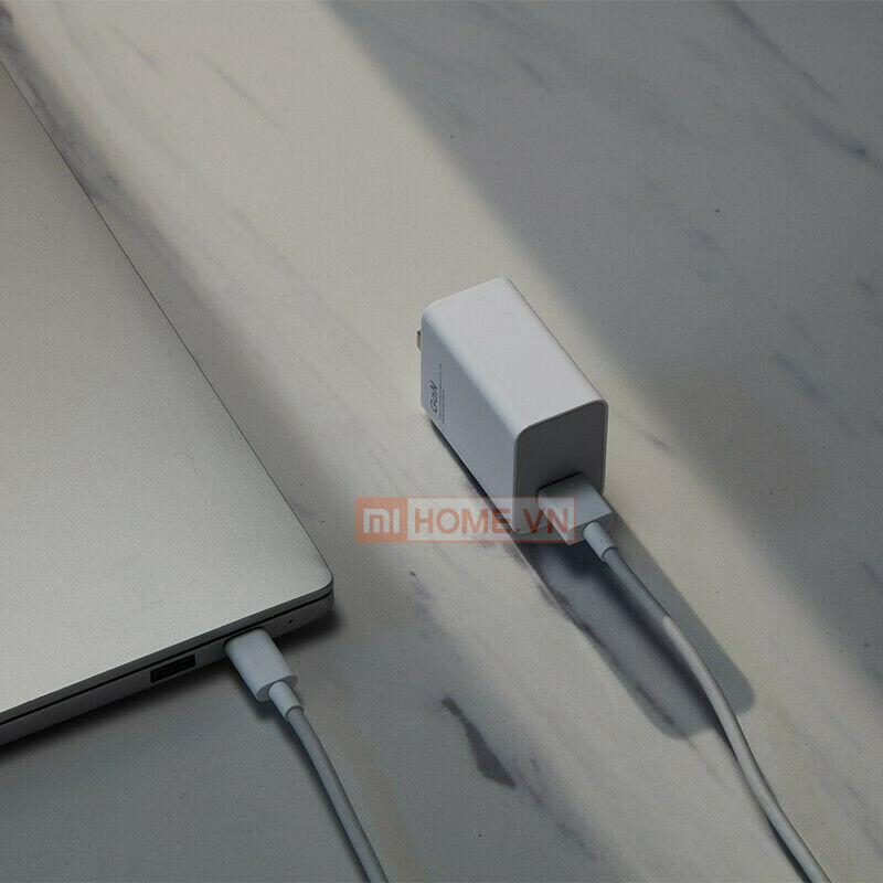 Combo sac Xiaomi QC GaN 55W MDY 12 EQ Cable TypeC 3