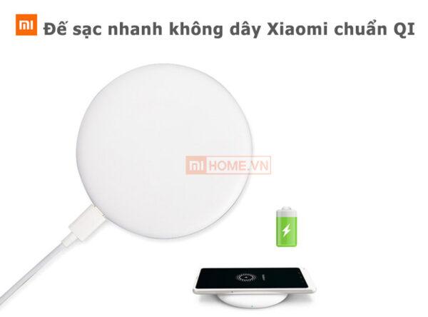 De sac nhanh Xiaomi MDY 09 EU 18W khong day chuan QI 6