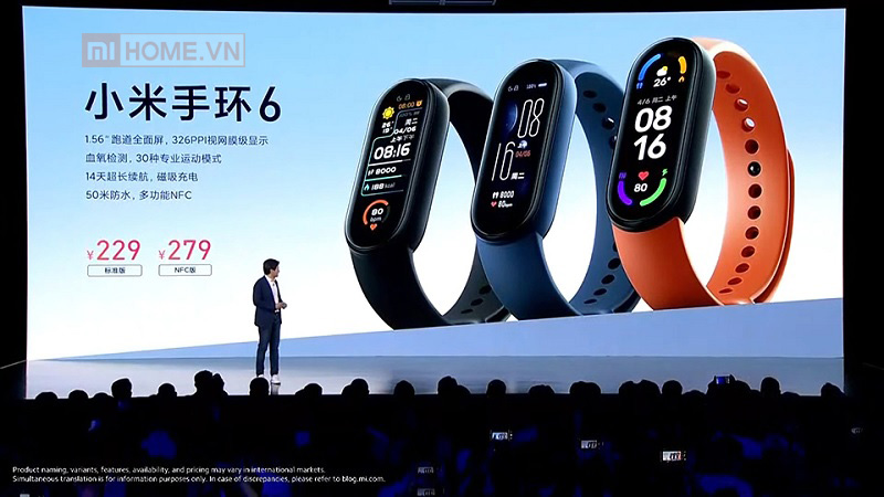 Mi band 6 vong deo tay thong minh 9