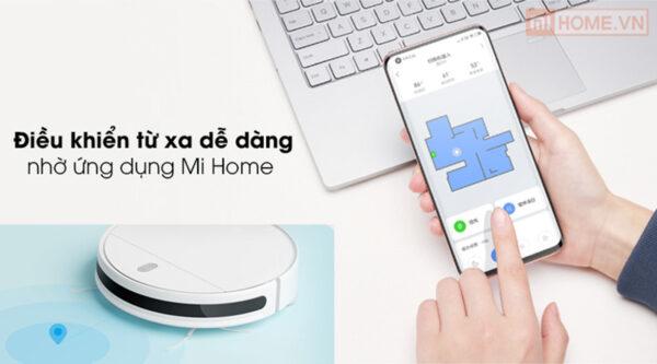 Robot hut bui Xiaomi Vacuum Mop Essential 10
