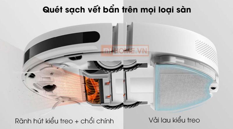 Robot hut bui Xiaomi Vacuum Mop Essential 3