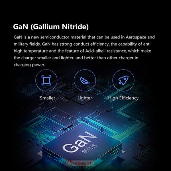 Bo sac Xiaomi Gan 65W Type C AD65G 5