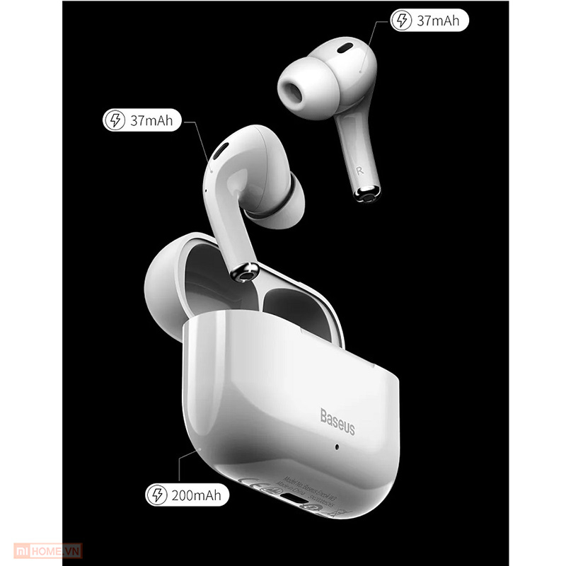 Tai nghe Baseus W3 True Wireless 6