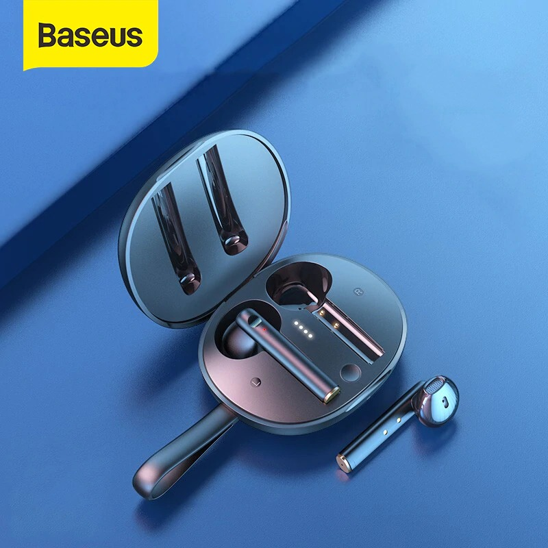 Tai nghe Bluetooth Baseus W05 White 3