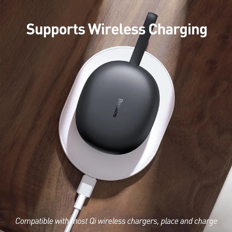 Tai nghe Bluetooth Baseus W05 White 6