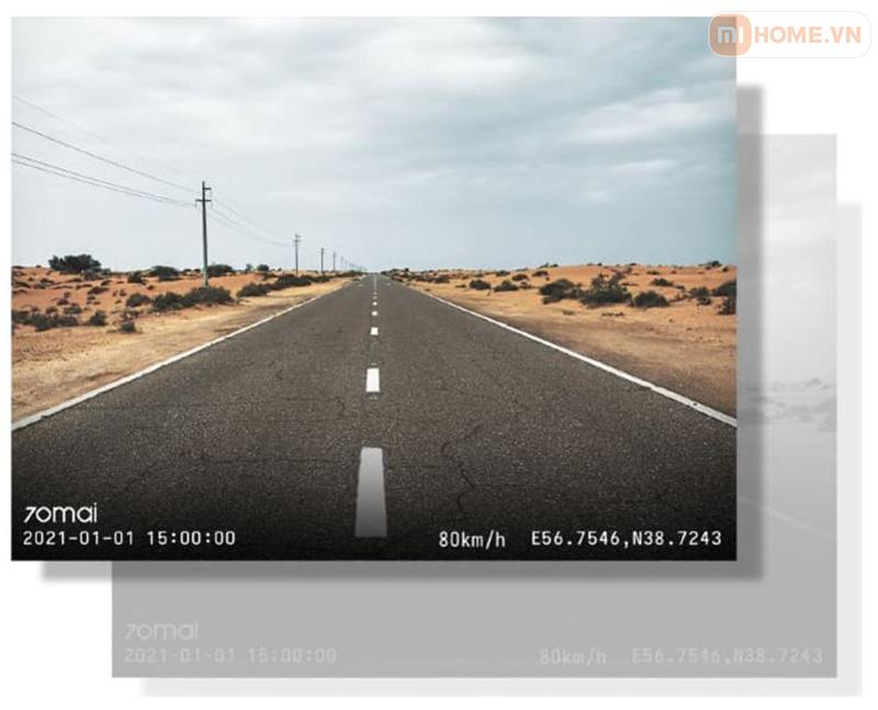 Camera 70mai dash cam A400 9