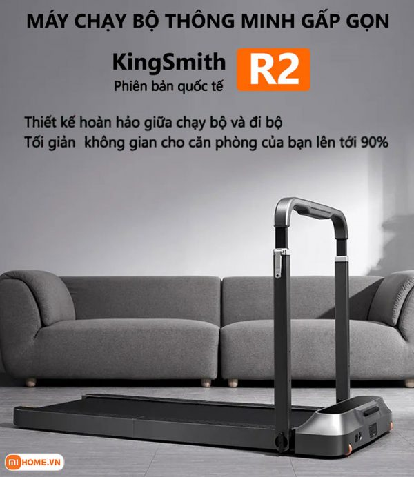 May chay bo Kingsmith R2 Pro ban quoc te 2