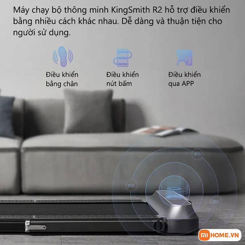 May chay bo Kingsmith R2 Pro ban quoc te 8