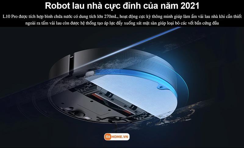 Robot hut bui lau nha Xiaomi Dreame L10 Pro 10
