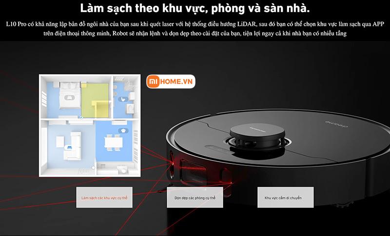 Robot hut bui lau nha Xiaomi Dreame L10 Pro 11