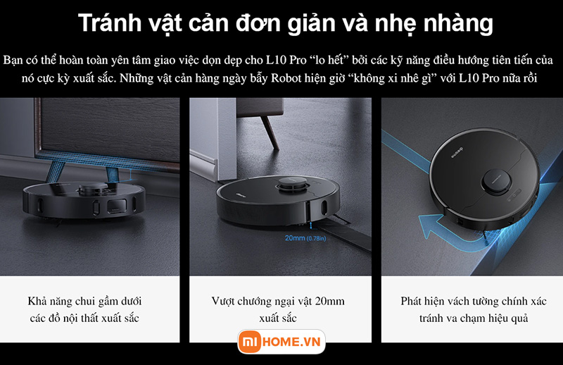 Robot hut bui lau nha Xiaomi Dreame L10 Pro 12