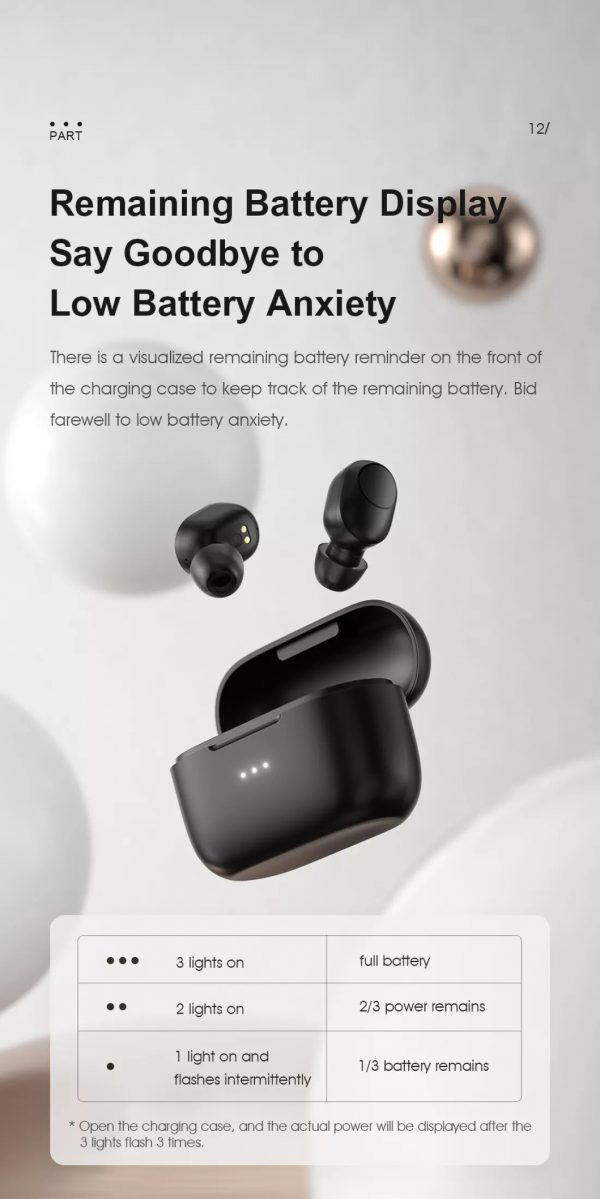 Tai nghe Bluetooth Haylou GT5 14
