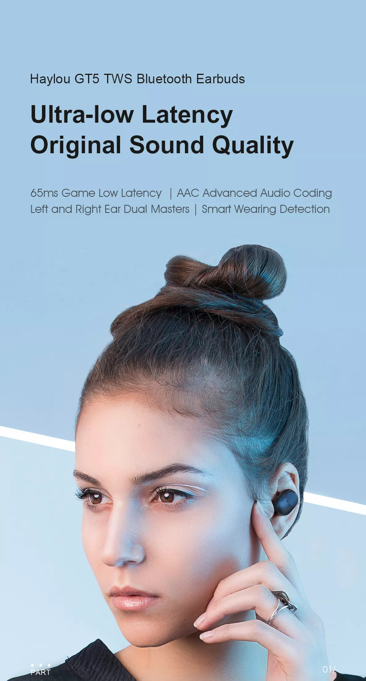 Tai nghe Bluetooth Haylou GT5 2