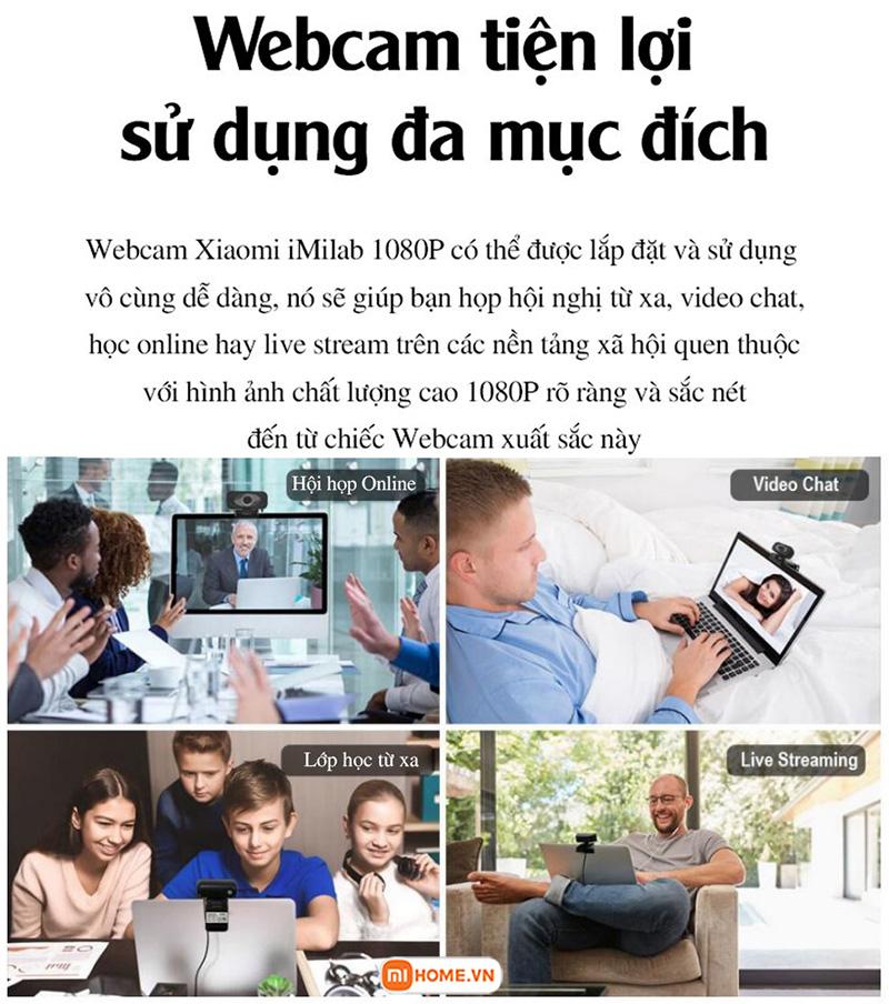Webcam Imilab fullHD 1080 8