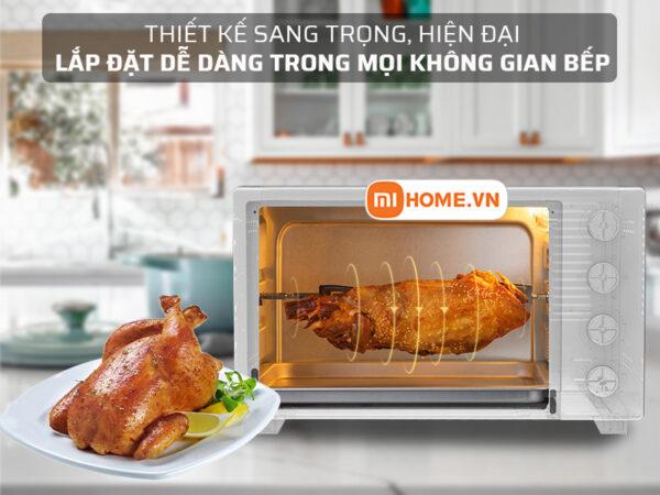 Lo nuong dien Xiaomi Mijia Oven 32L 2 1