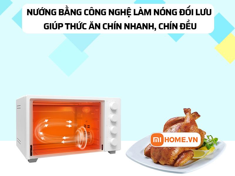 Lo nuong dien Xiaomi Mijia Oven 32L 3 1