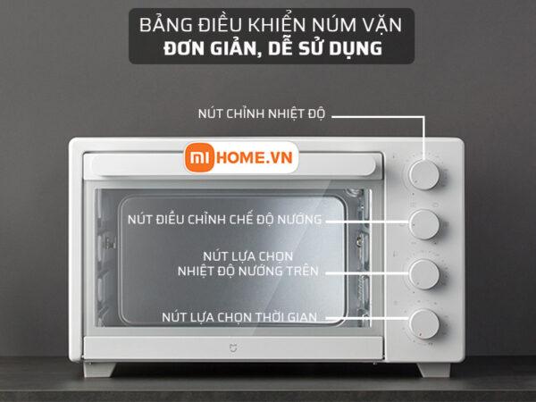 Lo nuong dien Xiaomi Mijia Oven 32L 5 1