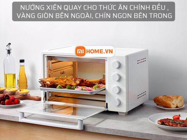Lo nuong dien Xiaomi Mijia Oven 32L 8 1