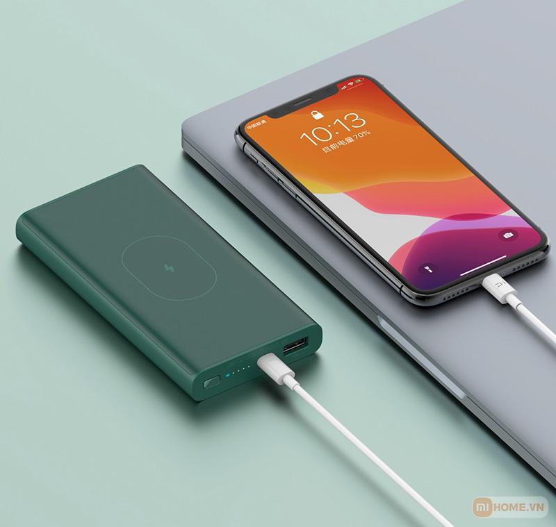 Sac du phong khong day Xiaomi ZMI WPB01 10000mAh 5