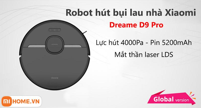 Robot hut bui lau nha Dreame D9 Pro 2