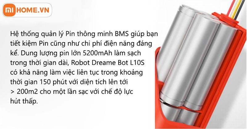 Robot hut bui lau nha Dreame D9 Pro 7