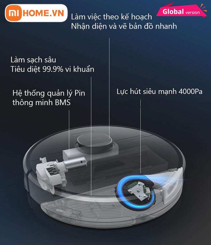 Robot hut bui lau nha Dreame D9 Pro 8