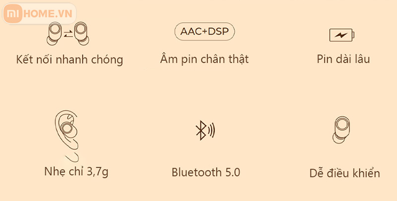 Tai nghe Bluetooth Haylou GT2S 3
