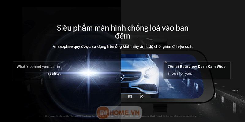 Camera hanh trinh guong Xiaomi 70mai 7