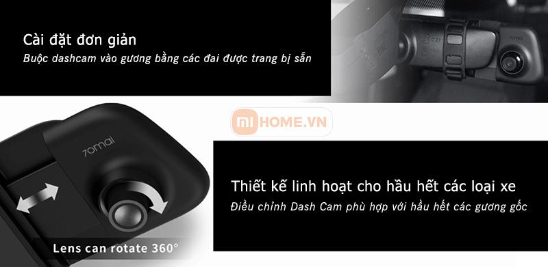 Camera hanh trinh guong Xiaomi 70mai 9