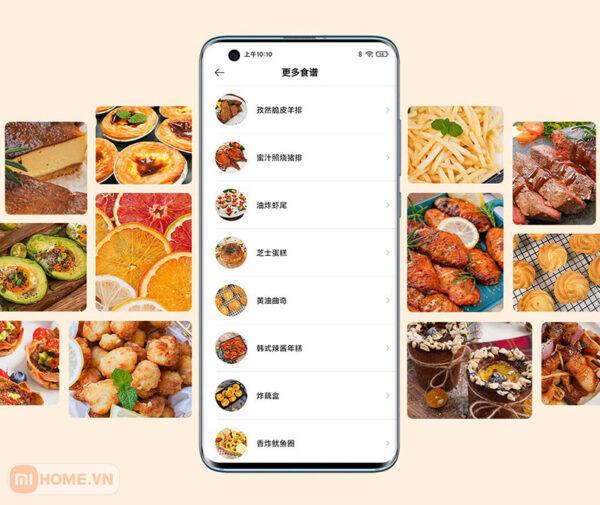 Noi chien khong dau thong minh Mi Smart Air Fryer 3.5L 10