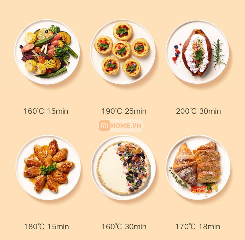 Noi chien khong dau thong minh Mi Smart Air Fryer 3.5L 8