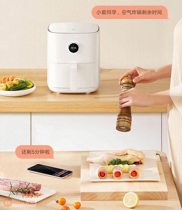 Noi chien khong dau thong minh Mi Smart Air Fryer 3.5L 9